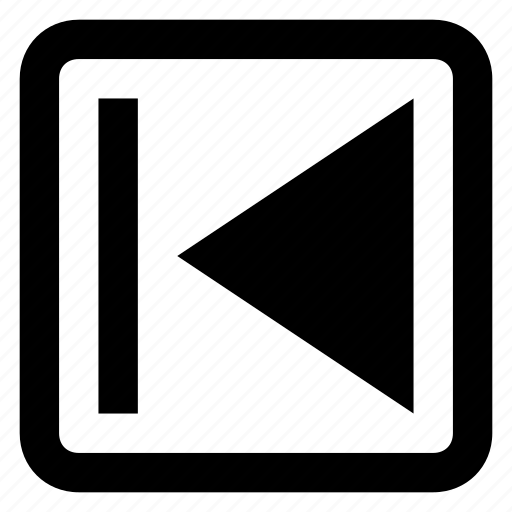 audio, back, previous, rewind icon icon