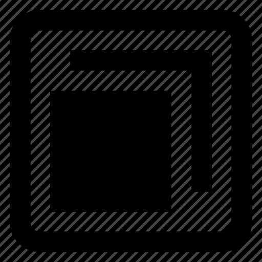 box, dashboard, down, minimize, restore, ui icon, • basic icon