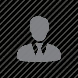 account, avatar, human, male, man icon
