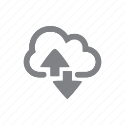 arrow, cloud, reload, sync icon