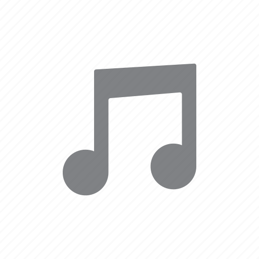 audio, music, note, sound, ui icon
