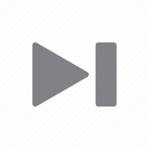 forward, navigation, next icon