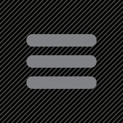 hamburger, list, menu, navigation, options, ui icon