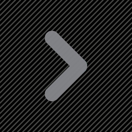 arrow, menu, navigation, right icon