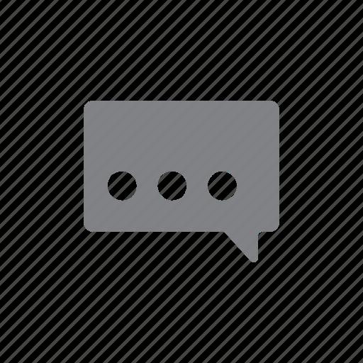 chat, comment, communication, menu, message icon