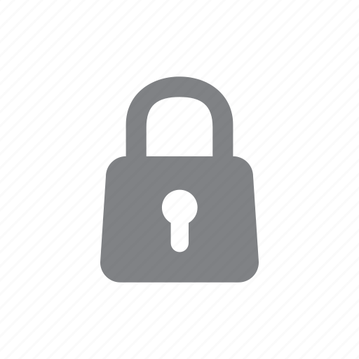 locked, password, privacy, safe icon