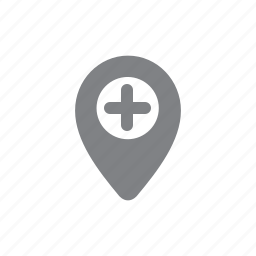 add, gps, location, pin, plus icon