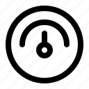 basic, element, interface, meter, user icon