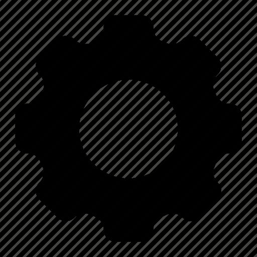 gear, glyph, menu, setting, ui, ux icon