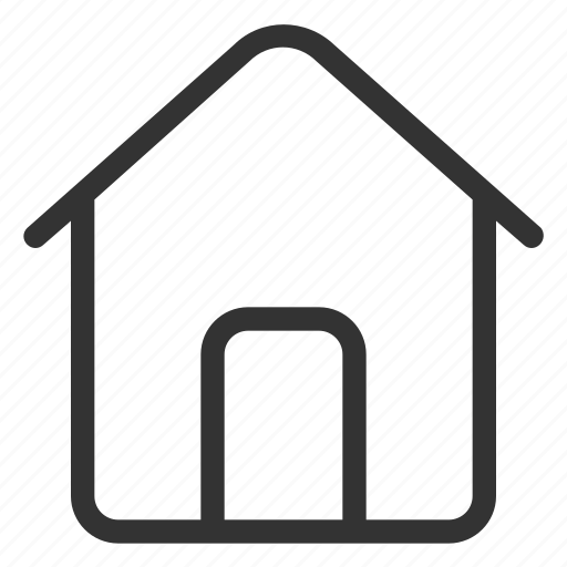 building, estate, home, house, main icon