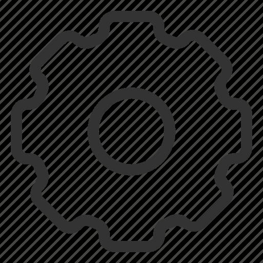 cog, configuration, option, options, set, setting, settings icon