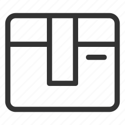 box, cargo, delivery, package, shipping icon