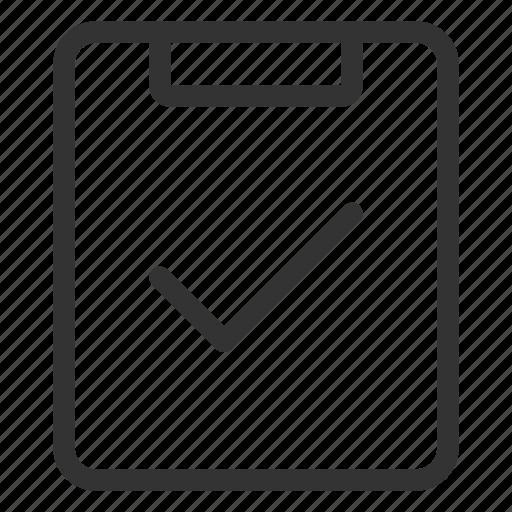Check, checklist, done, ok icon - Download on Iconfinder