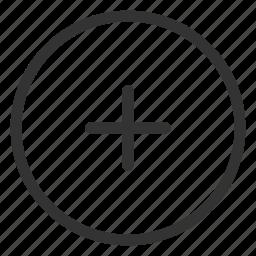 add, create, increase, new, plus icon