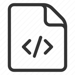 code, development, file, programming icon