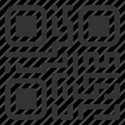 coder, qr, qrcode, scan icon