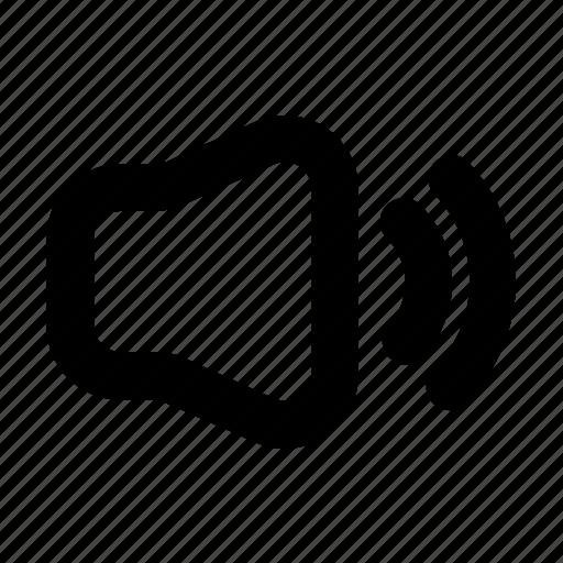 Sound, music, audio, volume, speaker icon - Download on Iconfinder