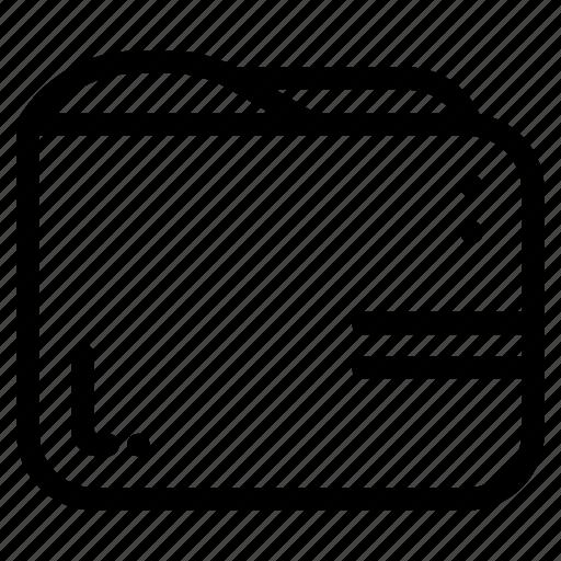 Folder, file, document, format, extension, paper icon - Download on Iconfinder