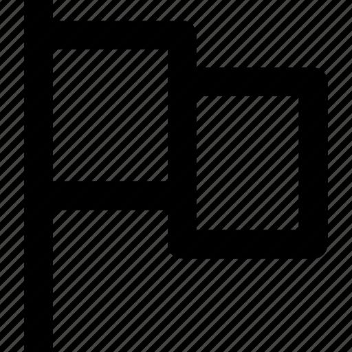 app, flag, important, mark, toolbar, ui icon