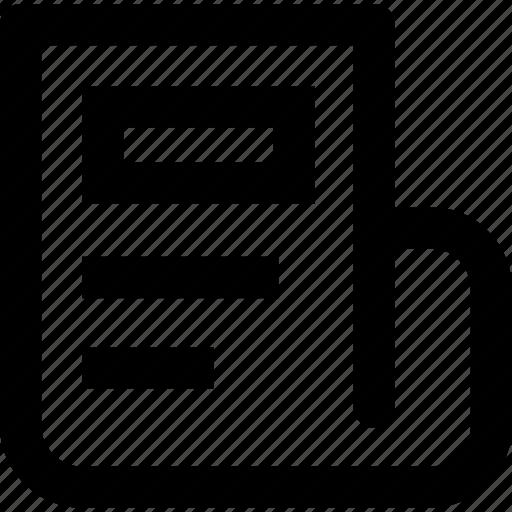 app, newpaper, news, toolbar, ui icon