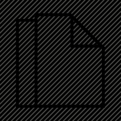 blanks, docs, documents, filess, line icon