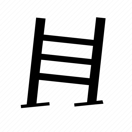 destination, graph, ladder, line, mission, steps, target icon