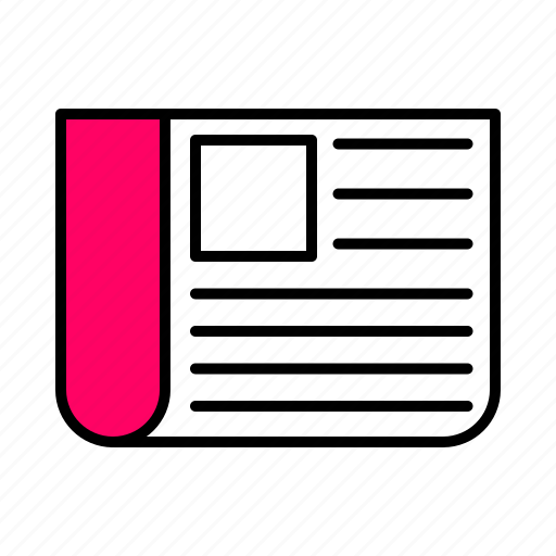 .svg, document, interface, line, pink, sheet icon