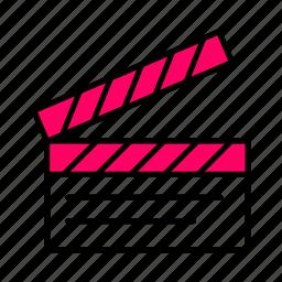 .svg, art, firecracker, line, pink, videodouble icon