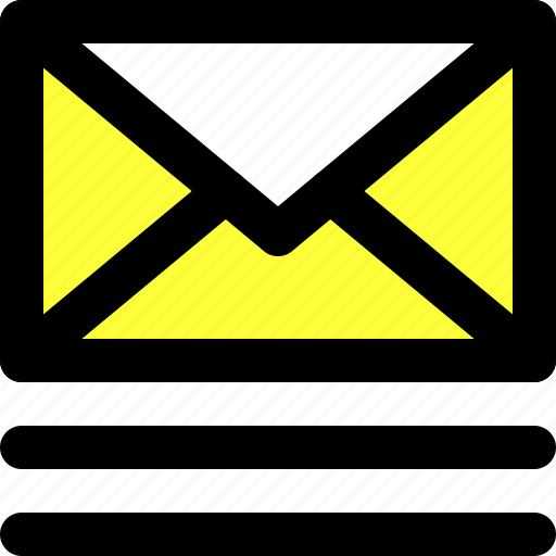 communication, email, emails, inbox, message, ui, user interface icon