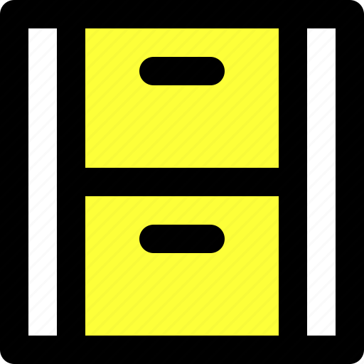 archive, document, files, library, memory, storage, user interface icon