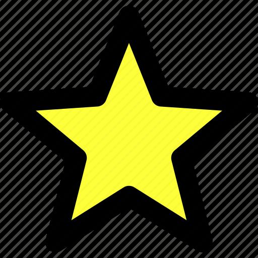 essentials, favorite, like, star, ui, user interface, wishlist icon