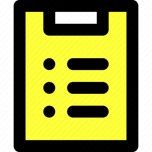 clipboard, essentials, list, menu, tasks, ui, user interface icon