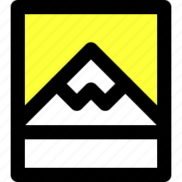 landscape, mountain, photo, photography, picture, ui, user interface icon