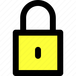 access, bolt, lock, locked, password, security, user interface icon