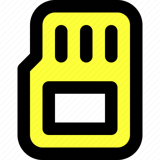 card, data, information, memory, photography, storage, user interface icon