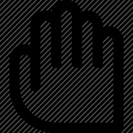 greeting, hand, handshake, hi, pointer, ui, user interface icon