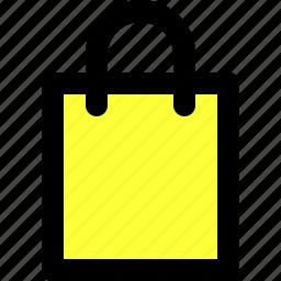 bag, basic icon, ecommerce, essentials, shopping, ui, user interface icon