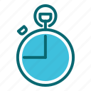 alarm, interface, stopwatch, time, timer, user icon