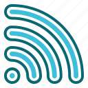 connection, interface, signal, user, wifi icon