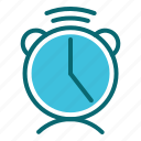 alarm, interface, time, timer, user icon