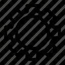 control, fix, gear, repair, service icon