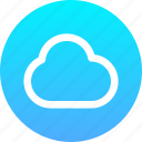 cloud, weather, storage, data, file, document, format icon