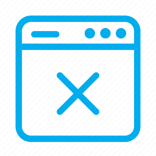 cancel, cyan, interface, ui, user, user interface, x icon