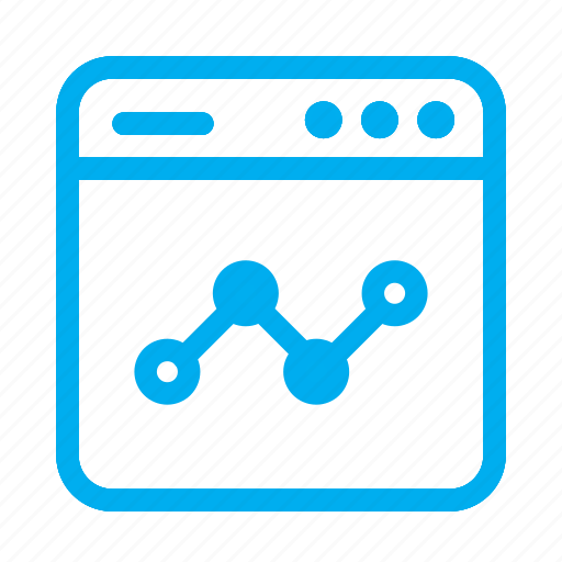 analytics, cyan, graph, interface, ui, user, user interface icon