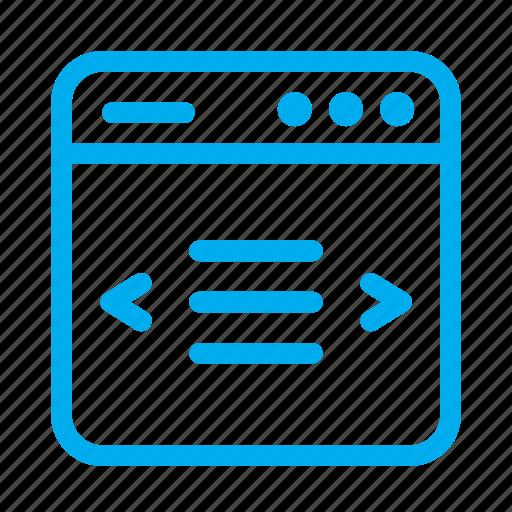 cyan, interface, layout, slider, ui, user, user interface icon