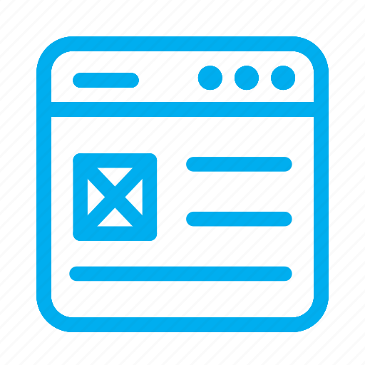 cyan, interface, layout, text, ui, user, user interface icon