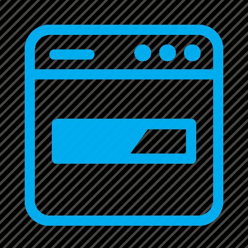 cyan, interface, loading, progress bar, ui, user, user interface icon