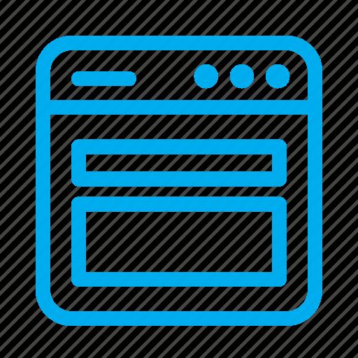cyan, grid, interface, layout, ui, user, user interface icon