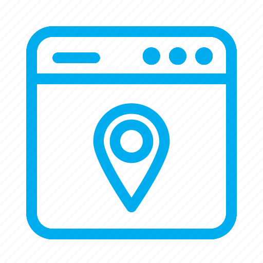 cyan, directions, interface, map, ui, user, user interface icon