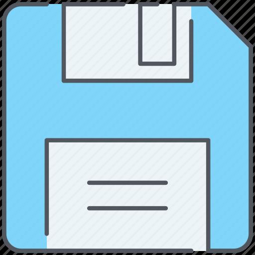 backup, disk, diskette, floppy, guardar, memory, save, storage icon